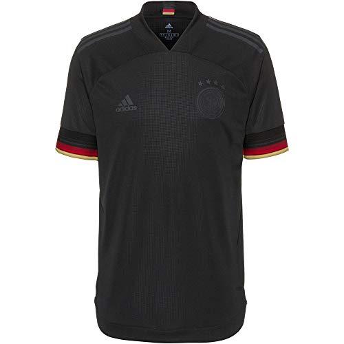 adidas DFB Authentic Camiseta, Hombre, Negro, Large