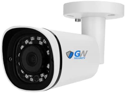GW8737IP 8MP IP POE 3.6mm Fixed Lens Mini Bullet Security Camera