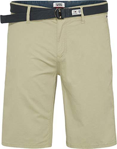 Tommy Jeans TJM Vintage Wash Short Vaqueros Straight, Beige (Desert Tan Rb7), W30/L28 (Talla del Fabricante: Ni28) para Hombre