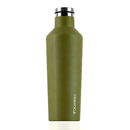 SPICE OF LIFE(スパイス) 水筒 ステンレスボトル CANTEEN CORKCICLE WATERMAN オリーブ 470ml 16oz 保冷 保温 真空断熱 2016WO