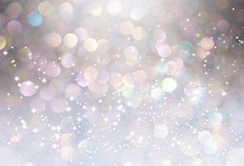 Fairytale Polka Dot Shiny Light Bokeh Birthday Baby Photo Background Photography Backdrop Photocall Photo Studio A1 10x7ft/3x2.2m