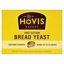 Hovis Fast Action Bread Yeast 6S X 42G