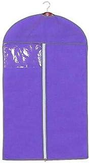 FidgetGear Breathable Garment Suit Dress Coat Shirt Clothes Dust Cover Travel Bags Carrier Purple 60 * 120