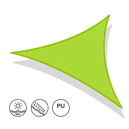 Generic Brands Nützliches Sonnensegel, wasserabweisend, für den Außenbereich, Garten, Terrasse, Party, UV-Sonnenschutz, Vordach mit kostenlosem Seil (3,6 x 3,6 x 3,6 m)