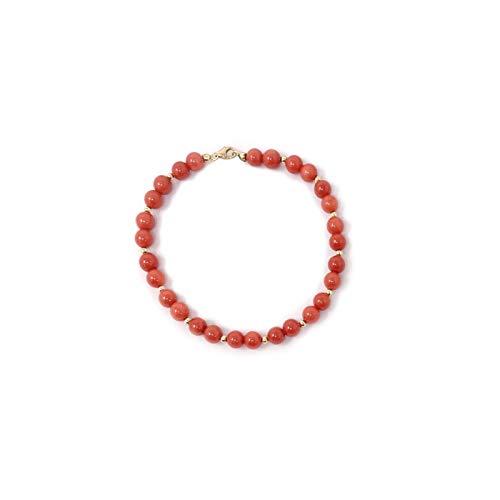 Bracciale in Corallo Rosso Sardegna Rubrum