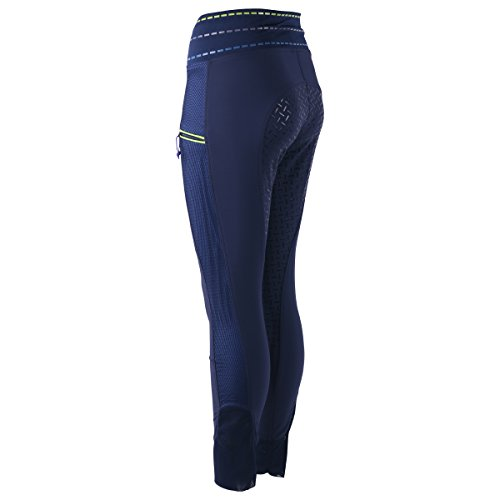 Harry\'s Horse Reitleggings Just Ride Kids Silikon Vollbesatz  - Blau - Gr. 176