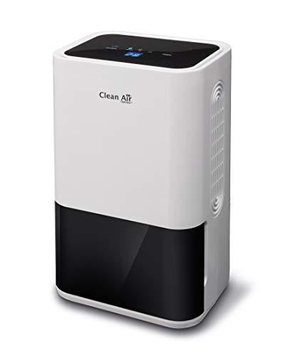 Clean Air Optima CA-703 Deshumidificador con ionizador 2 en 1: 2L 35dB 60W Color blanco - (60 W, 194 mm, 135 mm, 309 mm, 2,2 kg)