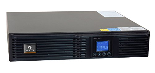 Liebert GXT4 UPS 1000VA 900W 120V, Online Double Conversion Rack Mount/Tower UPS, Uninterruptible Power Supply, Sine Wave, AVR, Battery Backup with Surge Protection(GXT4-1000RT120)