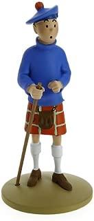 Collection figurine Tintin in a kilt 13cm Moulinsart 42192 (2015)