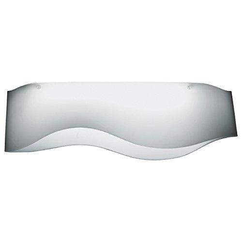 Zeffiro 140 plafondlamp, uitloopartikel - mat wit L x B x H 140 x 28 x 23 cm Slechts 1x in voorraad.