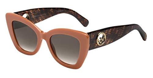 FENDI Mujer gafas de sol FF 0327/S, XDP/HA, 52