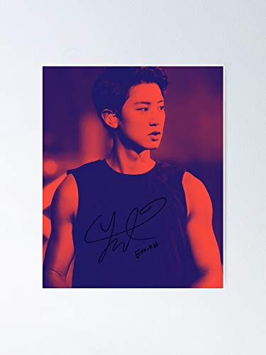 famfutho E-XO Park Chanyeol - Poster 11.7x16.5 inch No Frame Board for Office Decor, Best Gift Dad Mom Grandmother and Your Friends