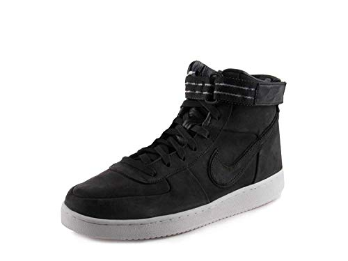 Nike Mens Vandal high Prem JE QS Black/Summit White Suede Size 7.5