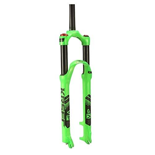 putao Horquilla de suspensión Ultraligera Bike Fork 26'27.5' 29'MTB Air Suspension Disc Freno Bicicleta Frontal Frontal Control Manual 1-1/8' Steerer 110mm Travel QR Accesorios para Bicicletas