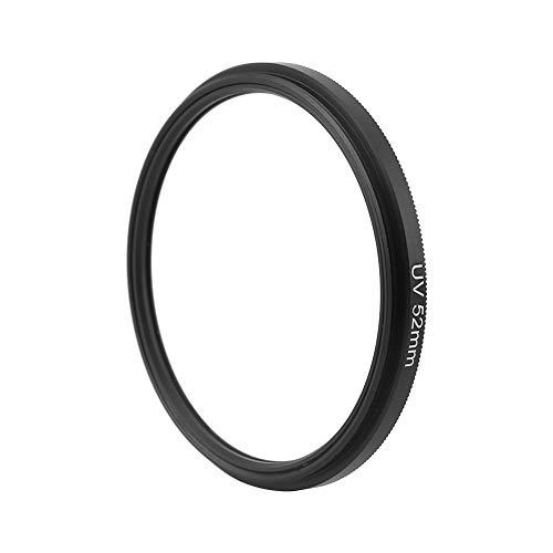 𝐁𝐥𝐚𝐜𝐤 𝐅𝐫𝐢𝐝𝐚𝒚 𝐒𝐚𝐥𝐞 Filtro de la Cubierta del Protector de protección de la Lente Ultravioleta UV de 52 mm / 72 mm para cámaras(52MM)