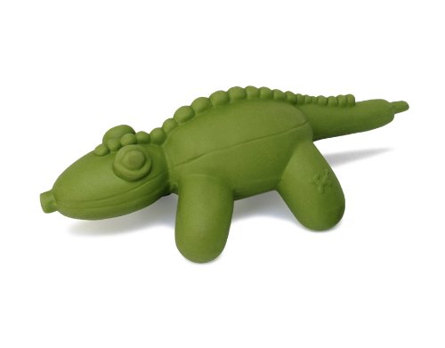 CHARMING Pet Latex Rubber Balloon Animal Gator Squeaky Dog Toy, Large, Green (79951L)