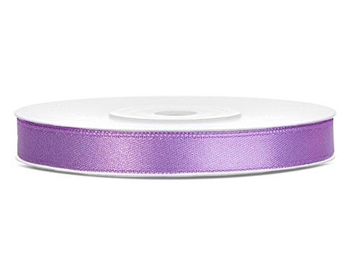 Like a Girl- wir lieben Hochzeiten Satinband 6mm breit / 25 m lang (Lavendel)