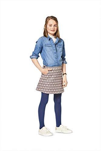 Burda Schnittmuster Kids 9356Rock und Latzhose, Papier, weiß, 19x 14x 0,5cm