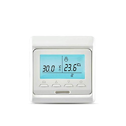 Goohifunny Smart Thermostat Digital Temperature Controller APP, Circulation Programmable Electric Underfloor Heating For Home