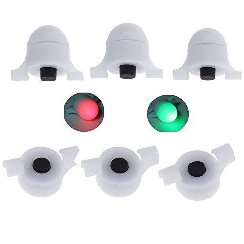Angel Sensor Led-licht Nachtangeln Streik Alarm Angeln Bissanzeiger Set Angelausrüstung