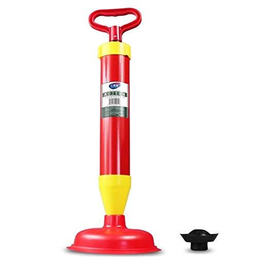 Bad und K/üche Abflu/ßreiniger Mediashop Hammersmith Drain Buster mit Pressluftpumpe gegen Verstopfungen in WC bis zu 6 bar Druck Press-Luft mit 4 Universaleins/ätze