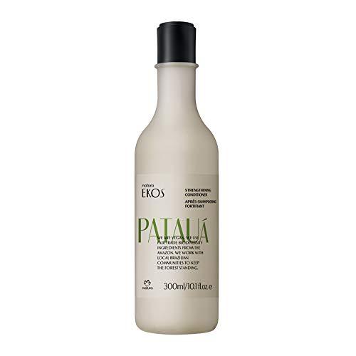 NATURA - Après-Shampoing Fortifiant Pataua Natura Ekos - Pour Cheveux Fins et Fragiles - Anti-frisottis - Renforce la fibre capillaire, Démêle les cheveux - 100% Vegan - Cruelty Free - Flacon 300 ml