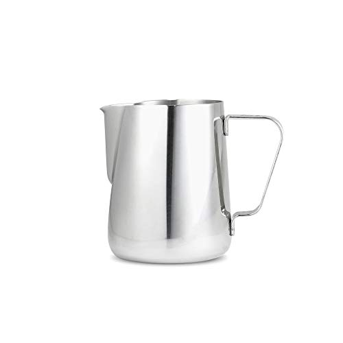 Espresso Parts Milk frothing pitcher, 12oz, Stainless Steel