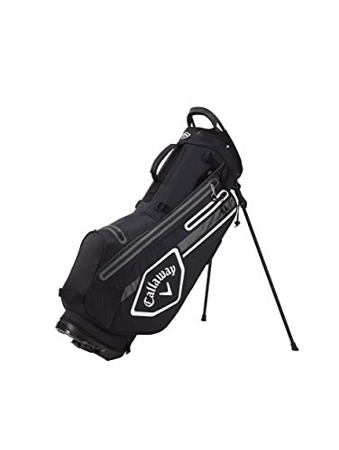 Callaway Golf Unisex's 2021 Chev Dry Stand Bag, Black/Charcoal/White, One...