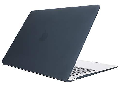 MacBookAir13インチケースシンプルなデザインソフトカバー(A1466/A1369)ブラック