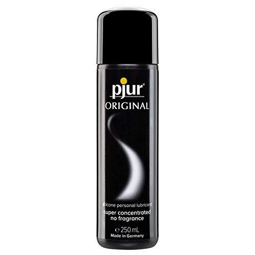 pjur ORIGINAL - Premium Silikon-Gleitgel - lange Gleitfähigkeit ohne zu kleben - sehr ergiebig und für Kondome geeignet (250ml)