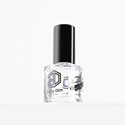 Jolly Dim make-up top coat voor nagelbehandeling. Intensieve glans. Sneldrogend.