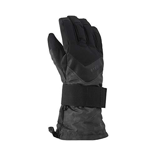 Ziener Gloves Milan Snowboard, Herren Einheitsgröße Magnet Tarnfarbe Druck