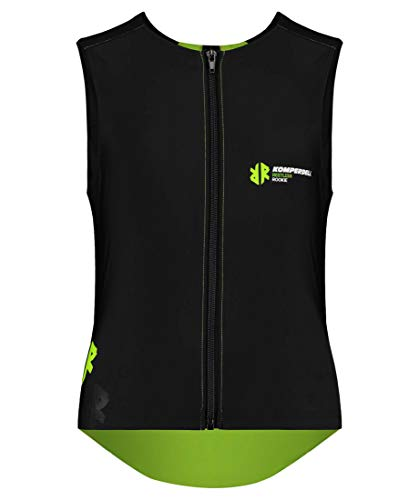 Komperdell Kinder Junior Super ECO Vest Protektorenweste schwarz 128