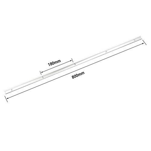 belupai 800mm T-Schiene T-Nut Gehrungsschiene Jig T Schraubenbefestigungsnut 19x9,5mm für Tischsäge Router Tisch Holzbearbeitungswerkzeug