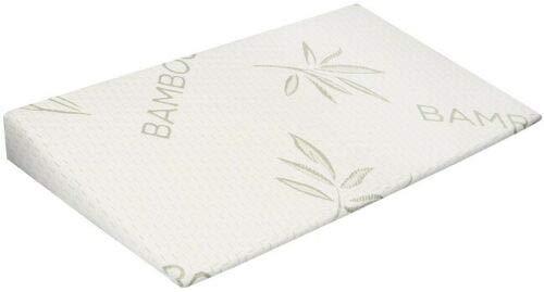 Keilkissen für Kinderbett 59x38 aus Bambus Bamboo Leichtes Atmen Babykissen Allergiefrei