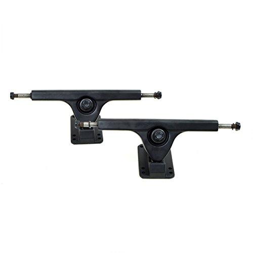 Apollo Longboard Achse - FatCat - Black - 7 Inch / 178 mm Longboard-Achsen Set/Trucks - Truck Set mit 2 Achsen