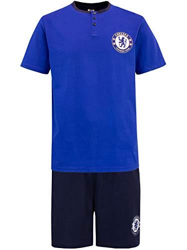 Premier League Pigiama per Uomo Chelsea F.C. Blu Large