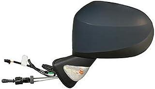 Lato Passeggero Manuale - Calotta Nera 7438635095420 Derb Specchio Specchietto Retrovisore Dx Destro