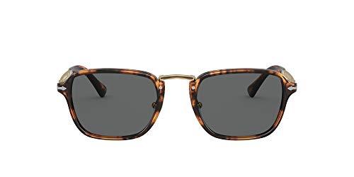Persol Gafas de Sol PO 3247S Caffe'/Grey 51/21/140 hombre