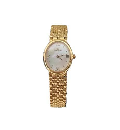 Orologio donna oro 18 kt Lorenz 323190AW Cassa Bracciale a maglia in Oro 750/1000