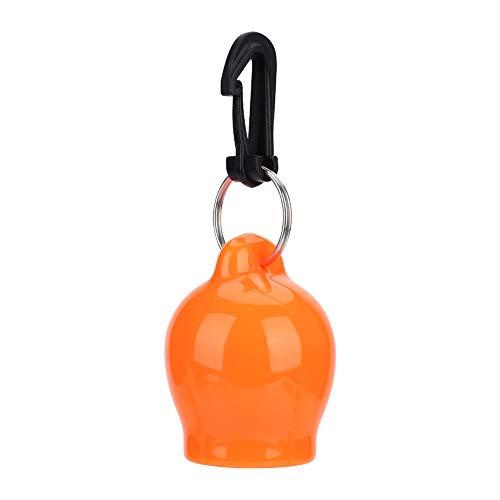 VGEBY1 Tapa de la Boquilla de Buceo, Silicona Snorkeling Skum-Ball Regulador Boquilla Tapa Octopus Holder Accesorio de Buceo(Naranja)