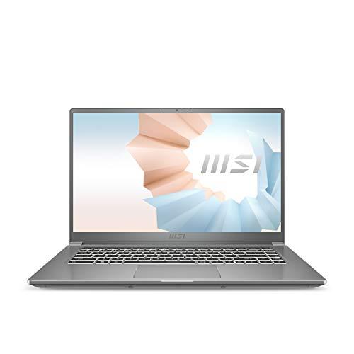MSI Prestige 15 A11SCX-217 15.6' UHD Ultra Thin and Light Professional Laptop Intel Core i7-1185G7 NVIDIA GeForce GTX1650 MAX-Q 32GB DDR4 1TB NVMe SSD Win10PRO, Urban Silver