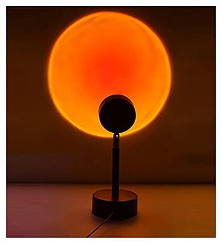 GOLOFEA Lámpara de proyector al Atardecer LED de la luz del Sol Romántico, para la decoración del hogar de la Fiesta de cumpleaños del jardín de la Boda del Dormitorio