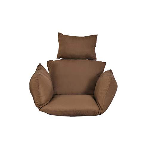 Zhiding Cuscino per Sedia Amaca, Sedia in Rattan Cuscino, Dondolo Sospesa, Cuscini per sedie Amaca Colori Multipli Cuscino per Sedile oscillante Schienale per Sedia sospesa con Cuscino