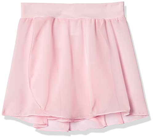 Capezio Little Girls' Tactel Collection Pull-On Skirt, Pink, Small