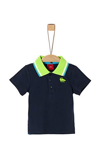 s.Oliver Junior Baby-Jungen 405.10.004.13.130.2037985 T-Shirt, 5798 Dark Blue, 86