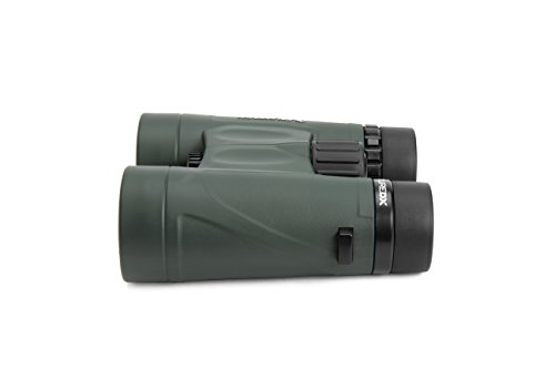 Celestron 71333 Nature DX 10x42 BaK-4 Prism Binoculars, Green