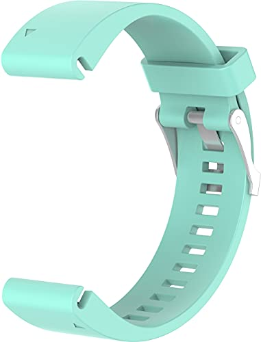 Gransho Compatible con Garmin Fenix 6X Pro/Fenix 6X Sapphire/Fenix 3 / Fenix 5X Plus/5X Sapphire Correa de Reloj, Banda de Reemplazo Silicona Suave Sports Pulsera (Pattern 4)