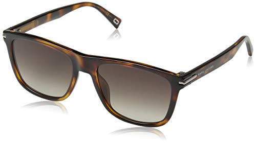 Marc Jacobs Marc 221/S HA 581 55 Occhiali da Sole, Nero (Havana BW Black Brown), Unisex-Adulto
