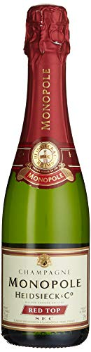 Heidsieck & Co. Monopole Champagne Red Top Sec in der halben Flasche (1 x 0.375 l)